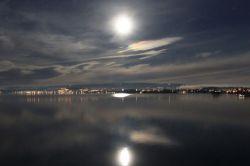 Cham / Monduntergang