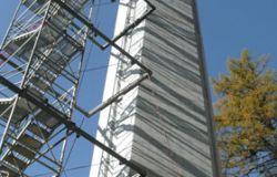 Vulpera-Treppenturm-Pfeiler